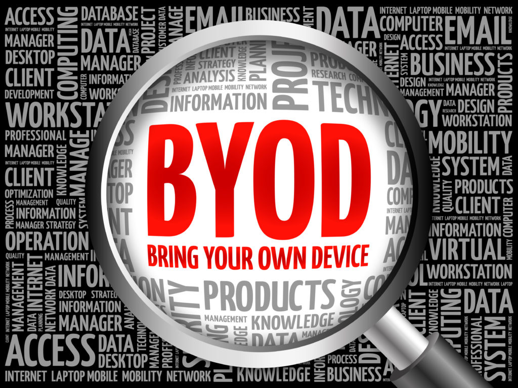 BYOD Policy is a first step to safeguarding your data.
