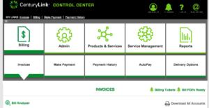 CenturyLink Control Center Doesn't Work Properly